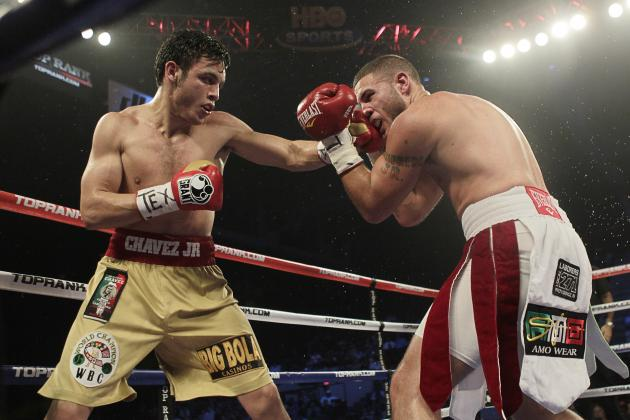 Julio Cesar Chavez Jr. Beats Andy Lee by TKO, Sergio Martinez Bout Announced