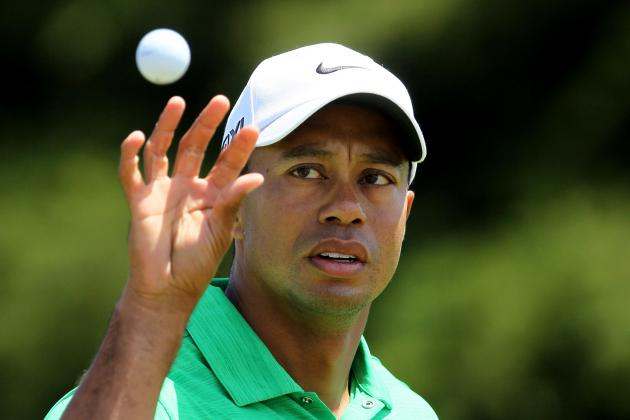 US Open Golf 2012 Leaderboard: Tiger Woods and the 17 Players Who Could Win
