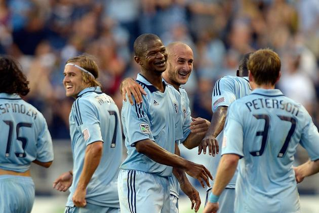 Sporting Kansas City Returns to League Play, Defeats Toronto FC 2-0