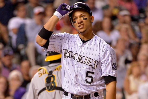 Carlos Gonzalez Scratched with Sore Right Hamstring
