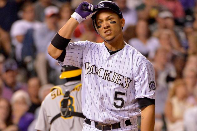Carlos Gonzalez Scratched from Lineup Due to Sore Hamstring