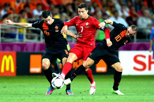 Ronaldo Roasts Hapless Dutch as Portugal Make Their Case at Euro 2012