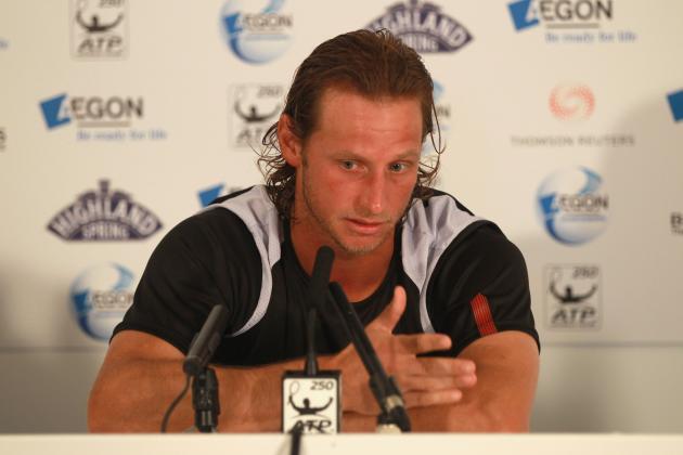 David Nalbandian's Default at AEGON Championships Costs Wimbledon 2012 Seed?
