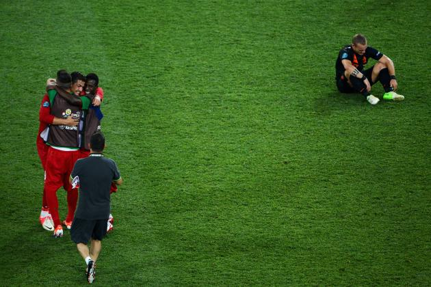 Euro 2012: The Netherlands Crash and Burn in the Group of Death
