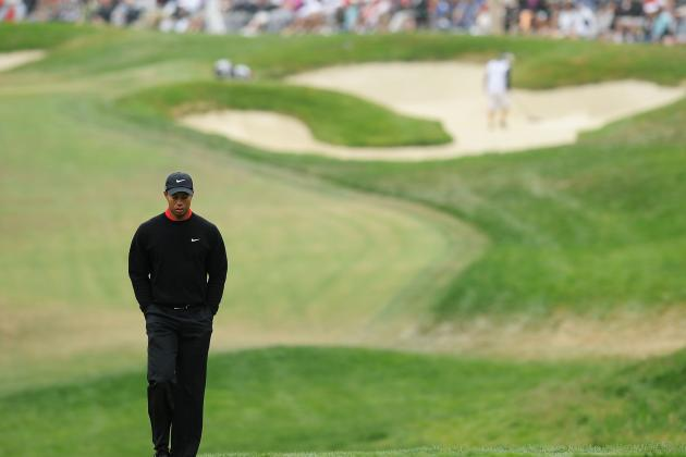US Open Golf 2012: Tiger Woods' Weekend Meltdown Is Finality to His Reign on Top