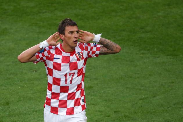 Summer Transfer Rumors: Could Croatia's Mario Mandzukic Make a Move to England?