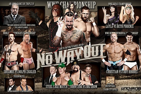 WWE No Way Out 2012: A Lack of Boom, a Dedicated Fans Disappointment