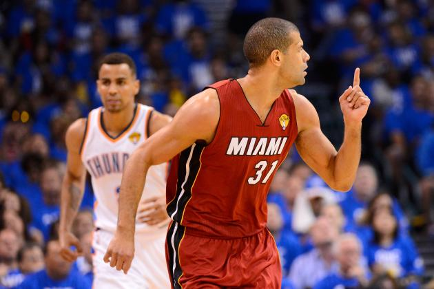 NBA Finals: Shane Battier Supports Miami's Big Three with Big Threes