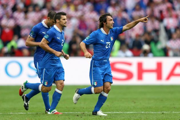 Italy vs. Ireland: Andre Pirlo's Leagcy Is More Than a