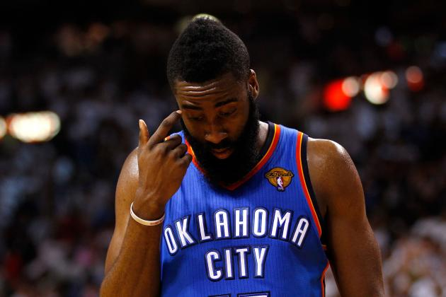 NBA Finals 2012: James Harden's Shooting Woes Will Cost Thunder Series