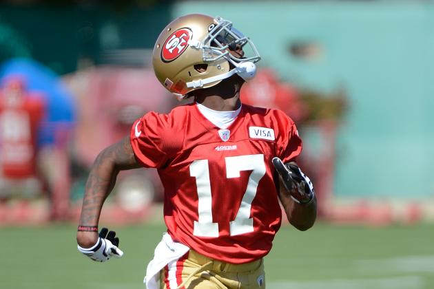 San Francisco 49ers First-Round Wide Receiver AJ Jenkins Still Struggling