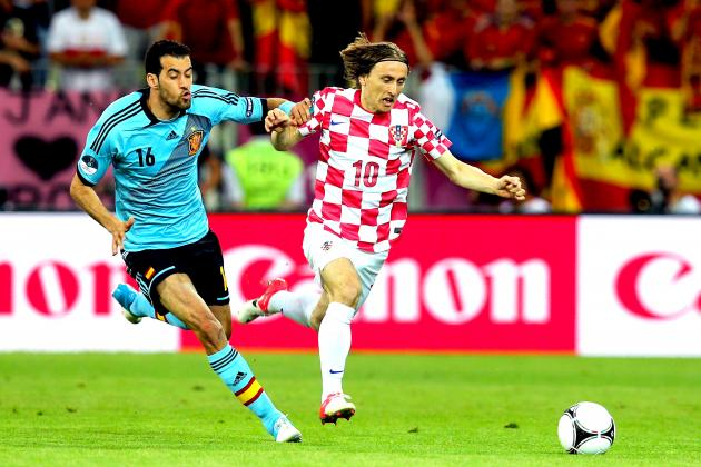 Croatia 0-1 Spain: As It Happened