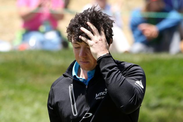 US Open Golf 2012: Rory McIlroy and Olympic Club's Most Embarrassing Losers