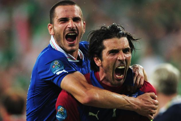 Match Report: Italy Beats Ireland 2-0