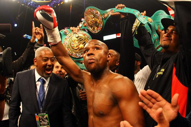 'Money' Mayweather Tops Forbes List of Highest-Paid Athletes