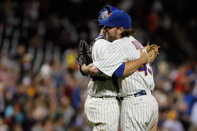 Mets R.A. Dickey Is Going Down in MLB History and He's Just Getting Started