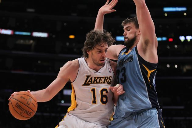 NBA Trade Rumors: Would Pau Gasol Be Good for the Memphis Grizzlies?