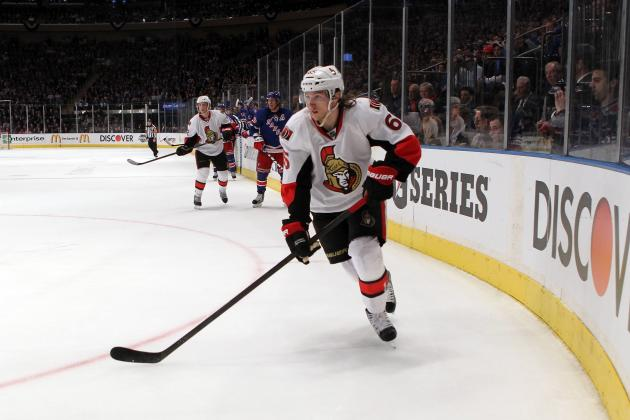 NHL Awards 2012: Senators' Erik Karlsson Has No Business Winning Norris Trophy