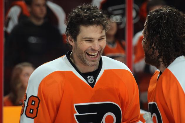 Jagr to Test Free Agency