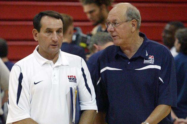 Syracuse Basketball: Comparing Jim Boeheim's & Coach K's College Hoops Legacies