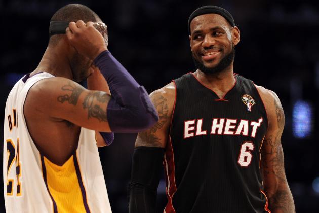 Phil Jackson Says He Wanted Kobe to Play More Like LeBron