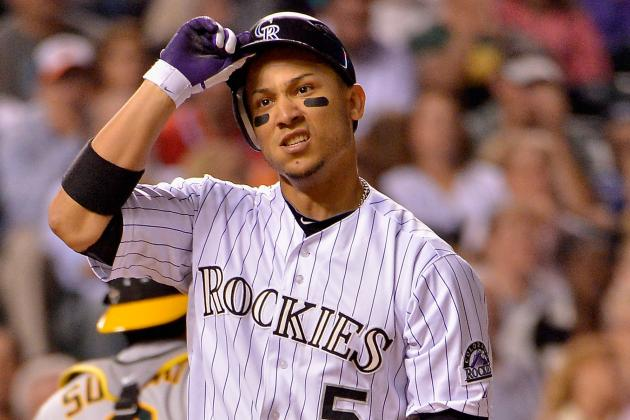 Carlos Gonzalez out for Tonight's Game