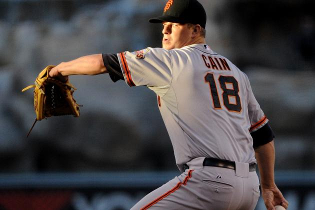 SF Giants' Matt Cain Receives Perfect Gift in Mizuno Samurai Sword