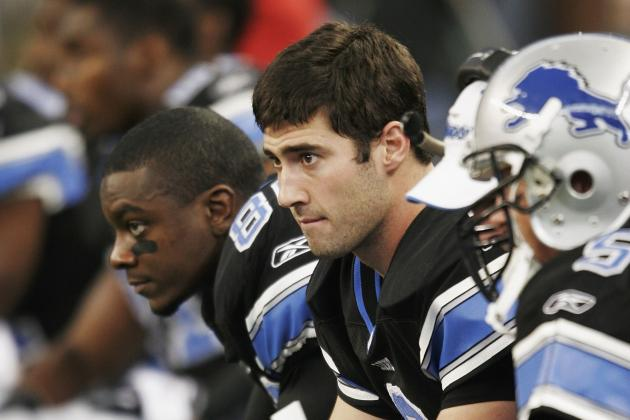 Counting Down the NFC North's 5 Biggest Busts: No. 4, Joey Harrington, QB, Lions