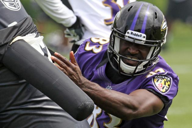 Undrafted WR Deonte Thompson Speeding Toward Roster Spot in Baltimore