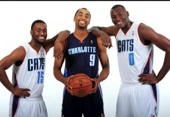New Charlotte Bobcats Uniforms