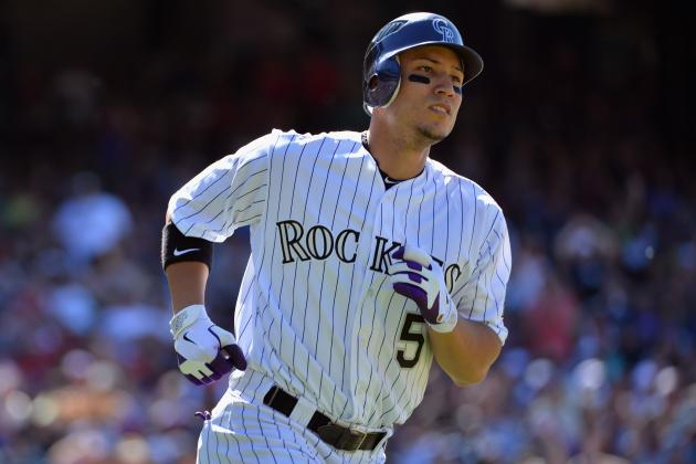 Carlos Gonzalez Aiming to Return to Lineup Wednesday