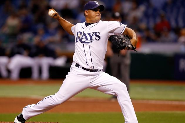 Joel Peralta: Tampa Bay Rays Pitcher Ejected for Foreign Substance on Glove