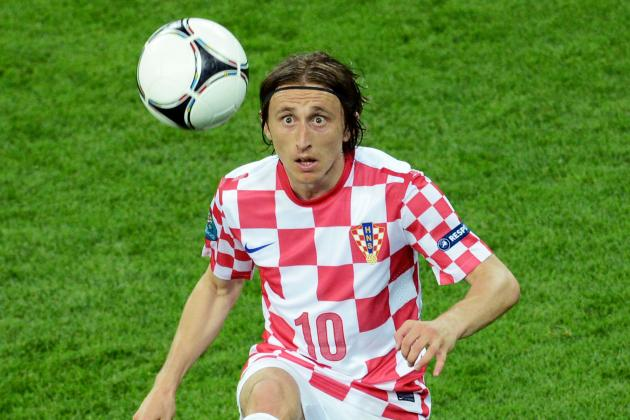 Euro 2012: Croatia Ousted, but Modric Does His Transfer Prospects No Harm