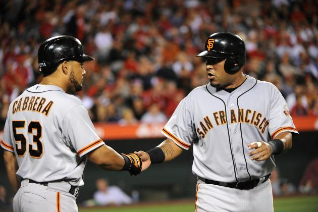 Melky Cabrera Gets 100th Hit, Breaks Willie Mays' S.F. Giants Record