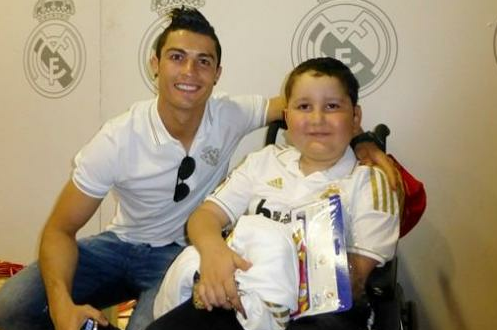 Cristiano Ronaldo and Agent Jorge Mendes Help Boy with Cancer
