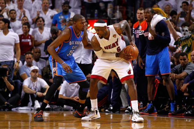 NBA Finals 2012: LeBron James Is Proving He Is Better Than Kevin Durant