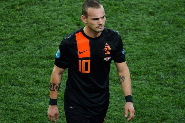 Wesley Sneijder Accuses the Dutch Squad of Having a Mole