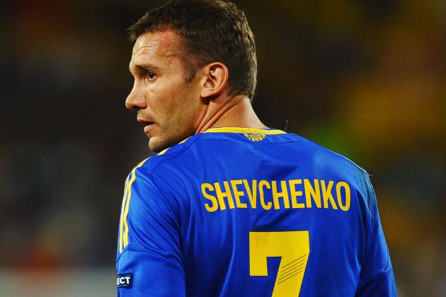 Shevchenko Announces International Retirement
