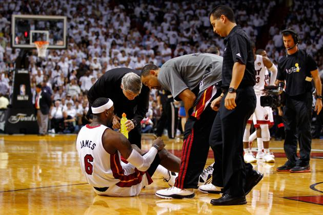 LeBron James Injury: Heat Star Must Go Full Speed to Capture First NBA Title