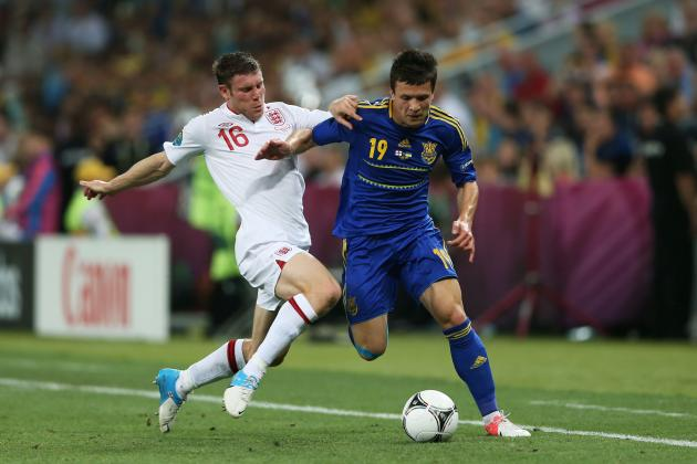 Euro 2012: Continuing to Start James Milner for England Is a Big Mistake