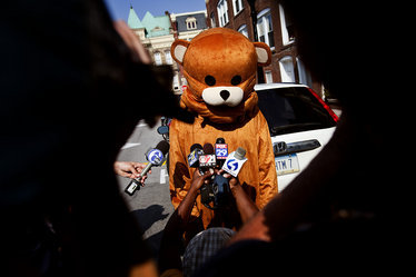 Jerry Sandusky Trial: Pedobear Has No Place at Center County Courthouse