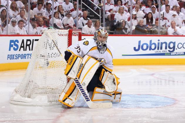Pekka Rinne: Locking Up Goaltender First Was Correct Move