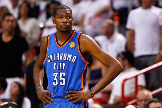 2012 NBA Finals: Why Does Kevin Durant Get a Pass from Media?