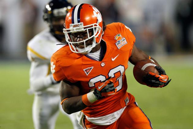 College Football 2012 Top 150 Players: No. 97 Andre Ellington Clemson RB