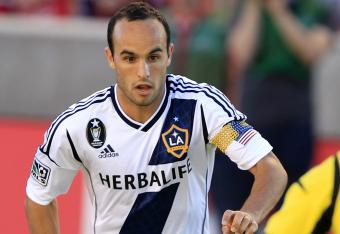 Landon Donovan has silenced Real Salt Lake on Wednesday night at Rio Tinto Stadium.