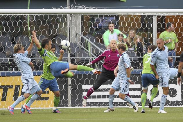 MLS: Seattle Sounders' Patrick Ianni with Goal of Year Strike in Draw to KC