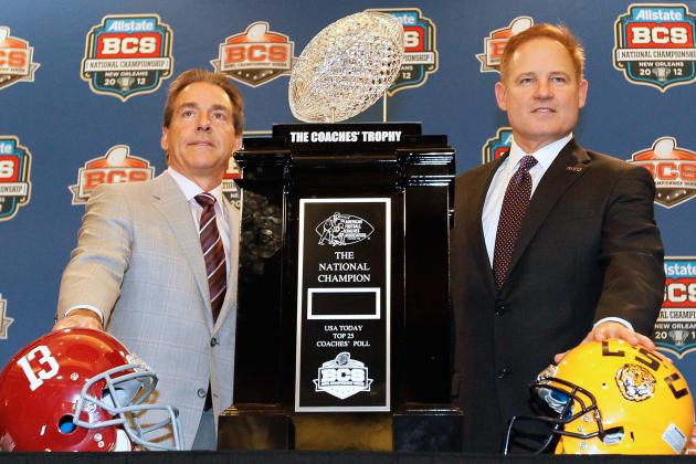 SEC Football Morning Coffee: LSU vs. Alabama BCS Rematch on the Horizon?