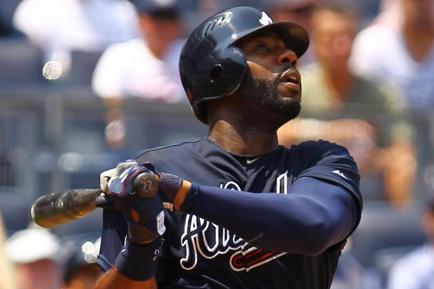 NL Best of the Night: Jason Heyward Slugs Two Homers in Braves' Home Run Parade