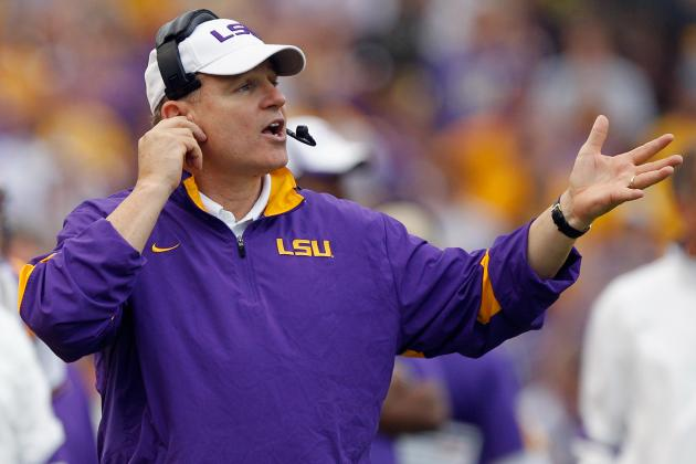 Les Miles is Playbook's Arbiter of Swagger