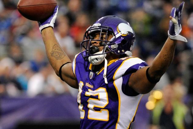 Leslie Frazier: Percy Harvin Is Back at Vikings Practice Today